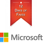 "Microsoft has rolled out its ""12 Days of Faves"""