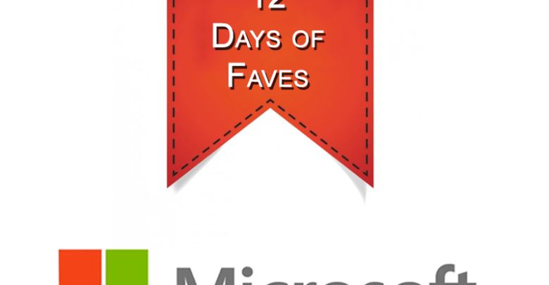 """12 days of faves 780x405 - Microsoft has rolled out its """"12 Days of Faves"""""""